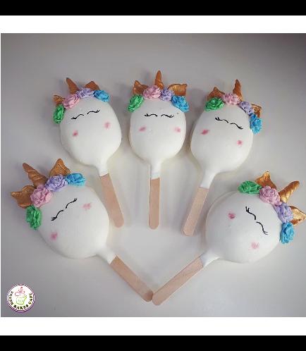 Unicorn Themed Popsicakes 01