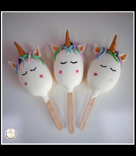 Unicorn Themed Popsicakes 03
