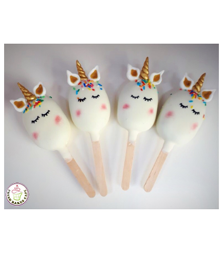 Unicorn Themed Popsicakes 05
