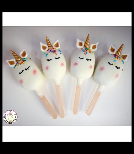 Unicorn Themed Popsicakes 05