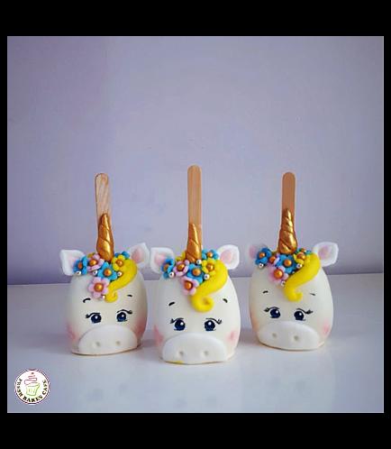 Unicorn Themed Popsicakes 06