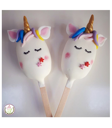 Unicorn Themed Popsicakes 07