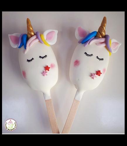 Unicorn Themed Popsicakes 07
