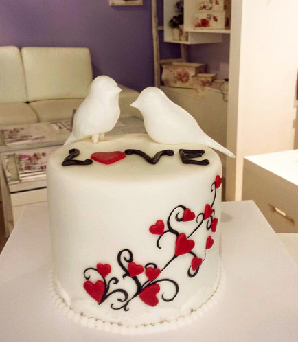 Cake - Birds - 3D Cake Toppers