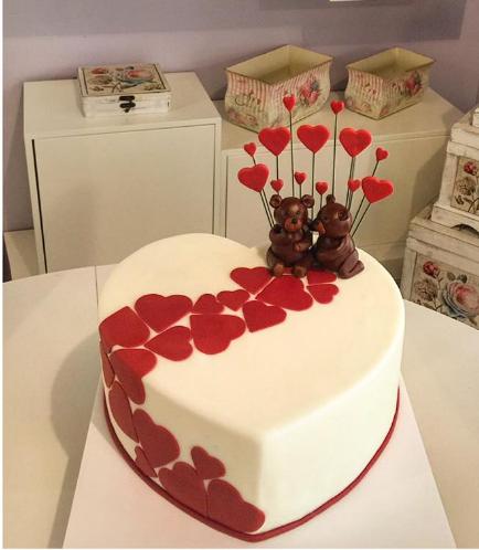 Cake - Heart Cake - Bears 3D Cake Toppers 02
