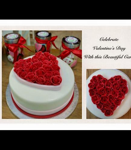 Cake - Heart - Roses 01