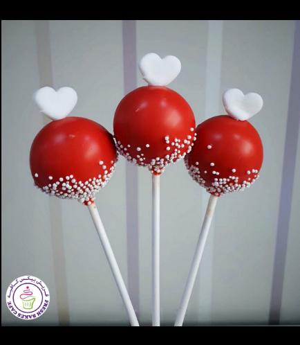 Valentine's Themed Cake Pops 06