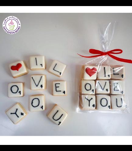 Valentine's Themed Cookies 11