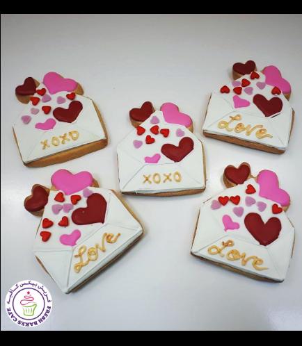 Valentine's Themed Cookies 09