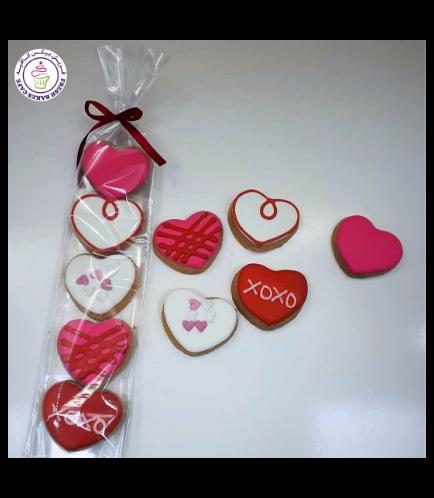 Valentine's Themed Cookies - Minis 01