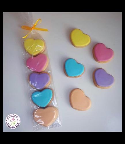 Valentine's Themed Cookies - Minis 02