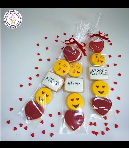 Valentine's Themed Cookies - Minis 05