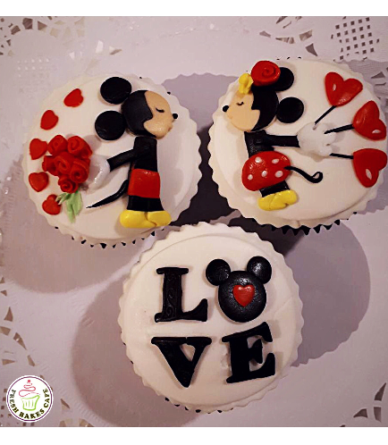 Cupcakes - Mickey & Minnie Mouse