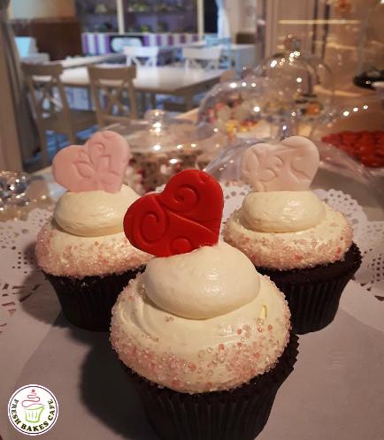 Cupcakes - Hearts 02