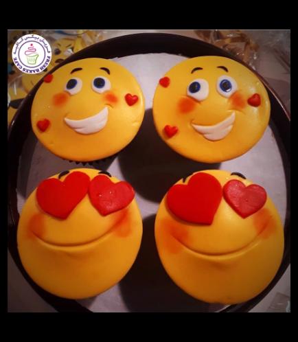 Cupcakes - Emojis 01