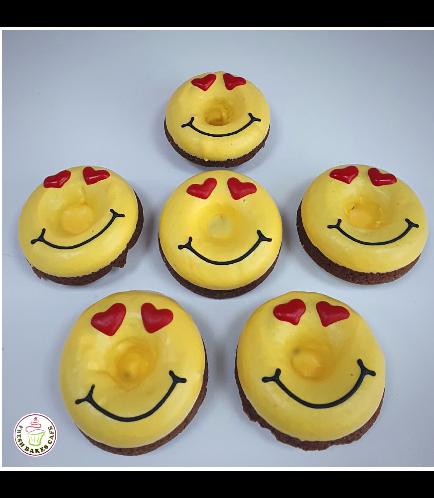 Valentine's Themed Donuts - Emojis 01