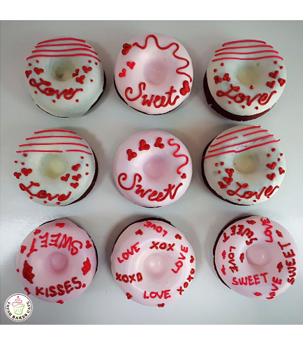Valentine's Day Themed Donuts 3