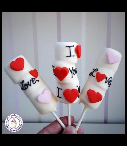 Valentine's Themed Marshmallow Pops 02