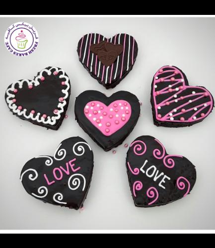 Brownies - Hearts 01