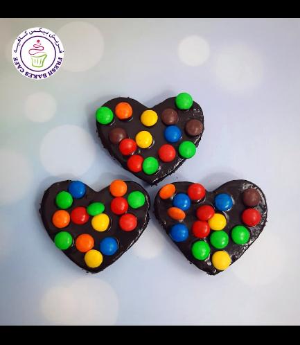 Brownies - Hearts 03