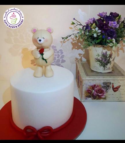 Cake - Bear - 3D Cake Topper - Beige 03