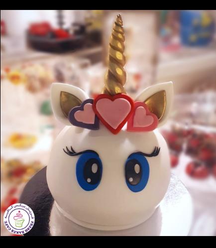Cake - Unicorn - Round Shaped 02