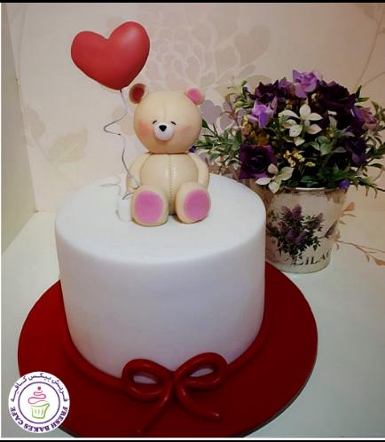 Cake - Bear - 3D Cake Topper - Beige 02