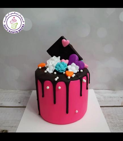 Cake - Valentine's - Pink