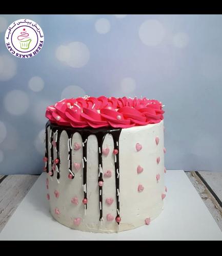 Cake - Funfetti Cake - Heart Sprinkles 01