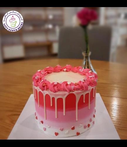 Cake - Funfetti Cake - Heart Sprinkles 02