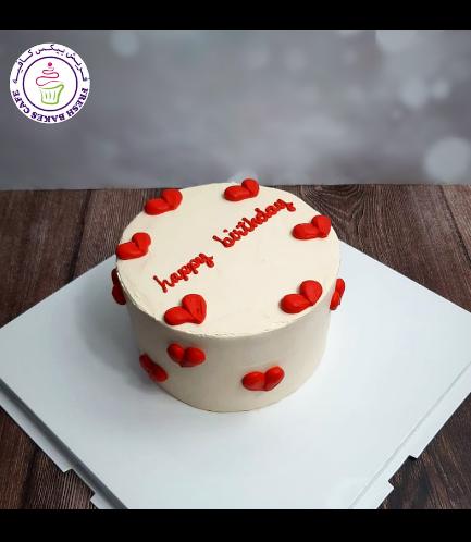 Cake - Heart Piping 02