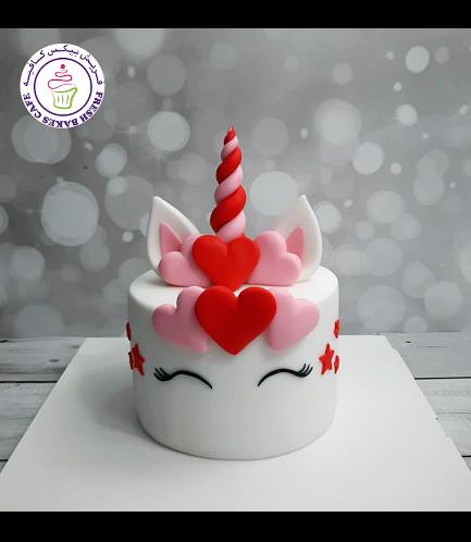 Cake - Unicorn - Fondant 03