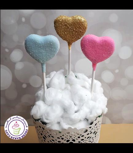Cake Pops - Hearts 03