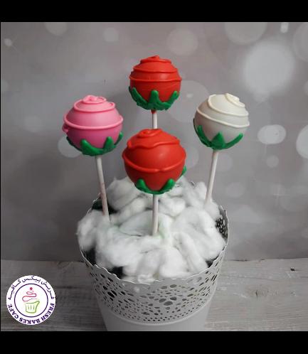 Cake Pops - Roses