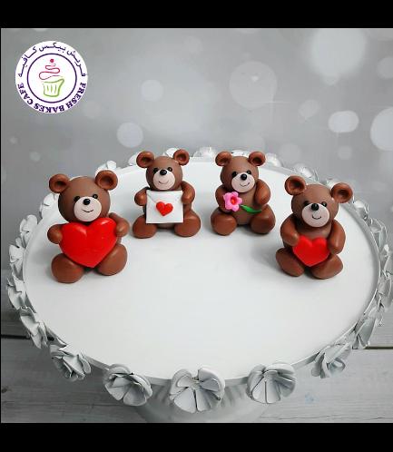 Cake Pops w/o Sticks - Bears 02