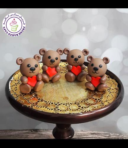 Cake Pops w/o Sticks - Bears 01