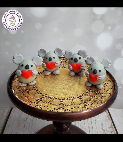 Cake Pops w/o Sticks - Koala