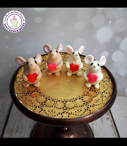 Cake Pops w/o Sticks - Mice