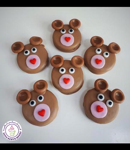Chocolate Covered Oreos - Bears