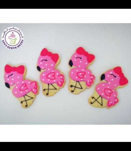 Flamingo Themed Cookies 11