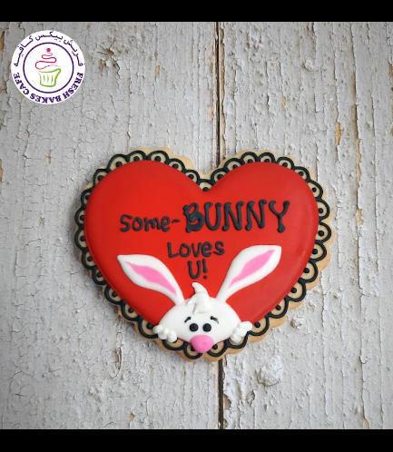 Cookies - Hearts - Rabbit