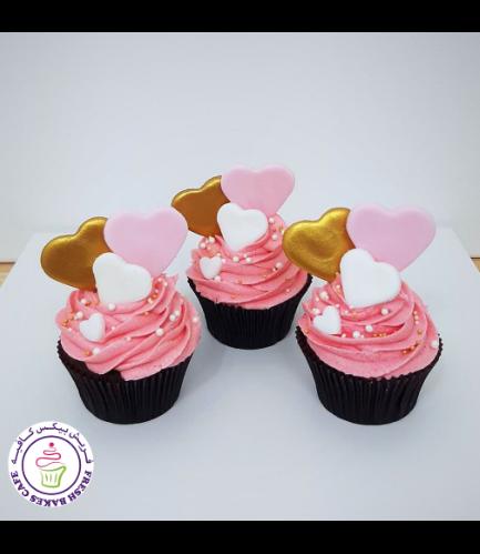 Cupcakes - Hearts 03