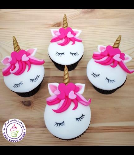 Cupcakes - Fondant - Valentine's 03
