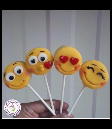 Emoji Themed Donut Pops 03