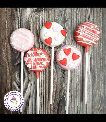 Donut Pops - Hearts 04
