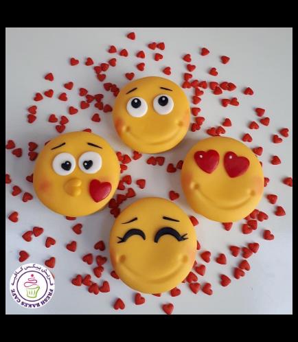 Valentine's Themed Donuts - Emojis 02