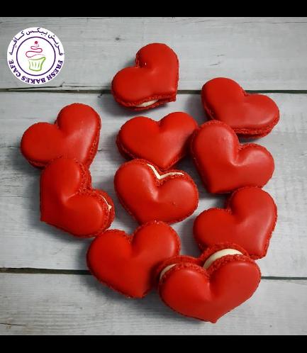 Heart Shaped Macarons 01