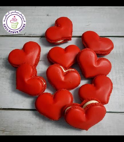 Macarons - Hearts 01