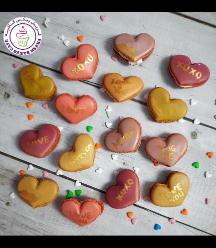 Heart Shaped Macarons 02