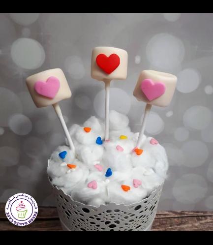 Marshmallow Pops - Hearts 02